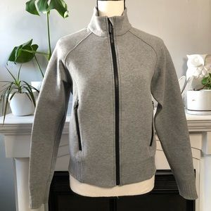 Lululemon Gray Scuba Zip Jacket